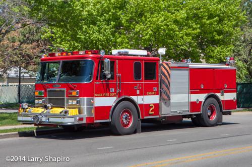 Pierce Lance fire engine