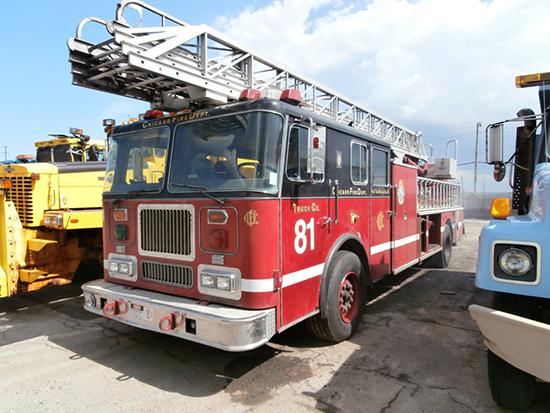 Used Fire Trucks : Fire trucks used for tv show « chicagoareafire