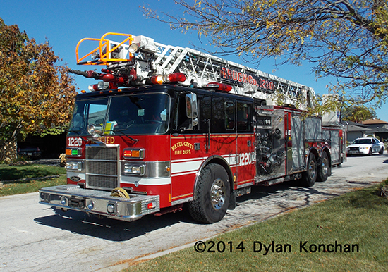 Pierce aerial ladder