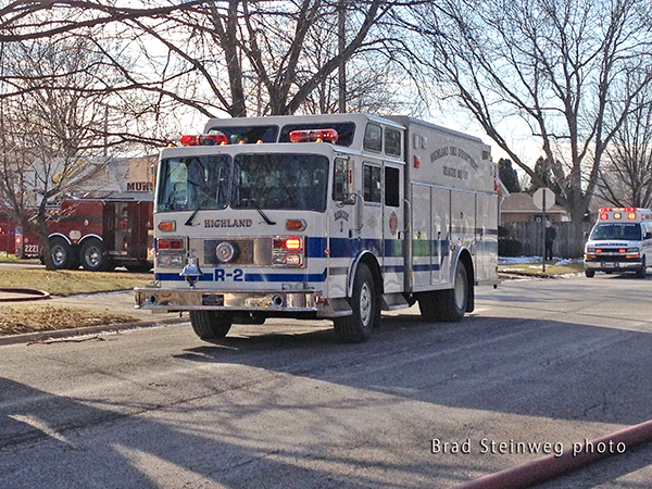Pemfab fire truck rescue squad