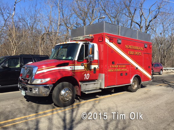 Northbrook FD Dive Rescue Unit