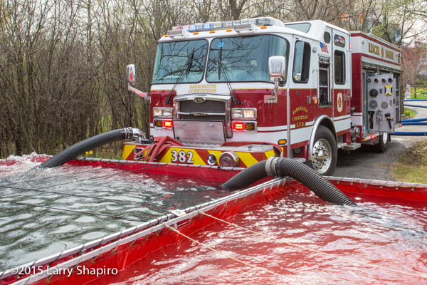 Video Of Rural Firefighting Tanker Operations