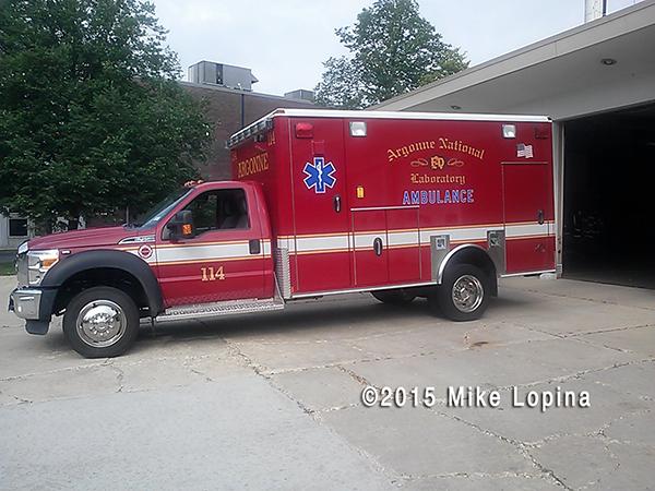 2011 Argonne FD Ambulance 114 Ford F-450/Wheeled Coach
