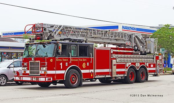 Chicago FD Truck 1