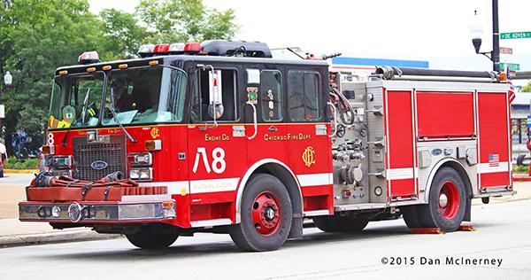 Chicago FD Engine 8