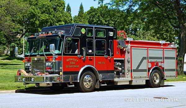 Spartan Darley fire engine