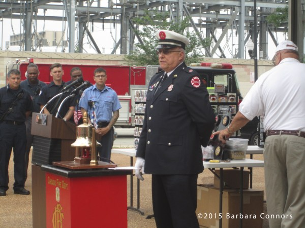 ringing of the fire bell in memory of those who served