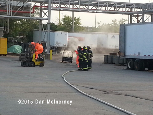 firefighters kat hazardous materials incident