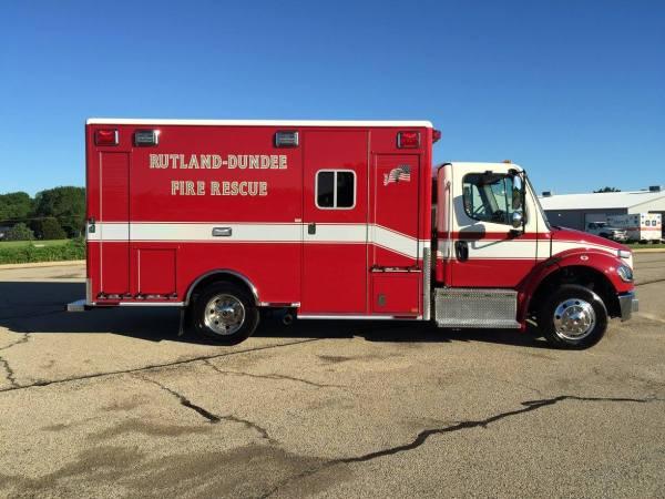 Rutland-Dundee FPD ambulance