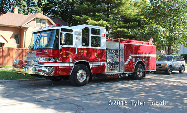 Pierce Quantum fire engine