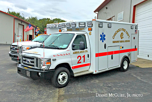 new ambulance for CFD Ambulance 21