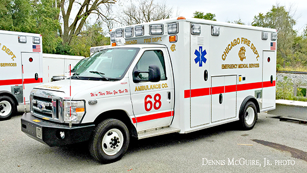 new ambulance for CFD Ambulance 68