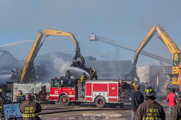 Chicago FD Engine 22