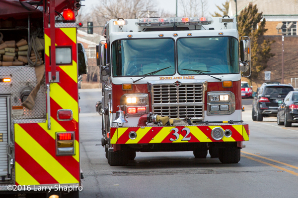 Highland Park FD Spartan fire engine 32
