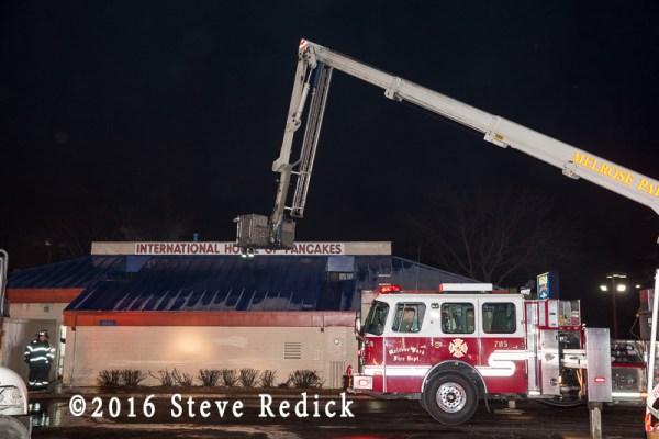 Melrose Park fire truck