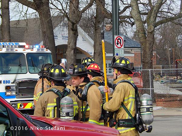 Northfield firefighters