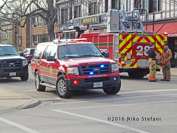 Winnetka FD Battalion 28