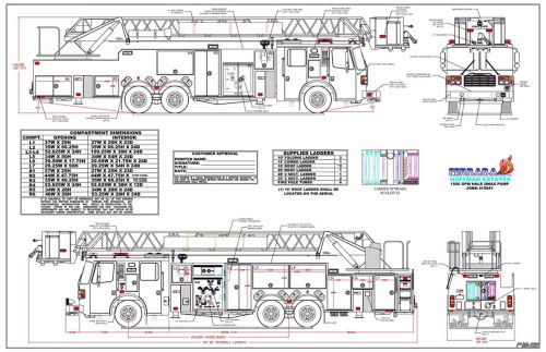 small resolution of drawings of new fire truck chicagoareafire com rh chicagoareafire com fire truck turning radius fire truck seating diagram