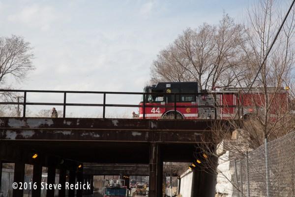 Chicago fire engine