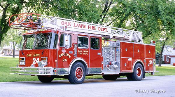 Oak Lawn FD history