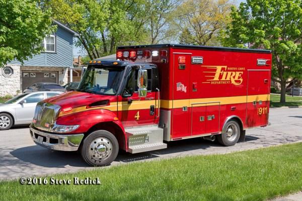 Morton Grove FD Ambulance 4