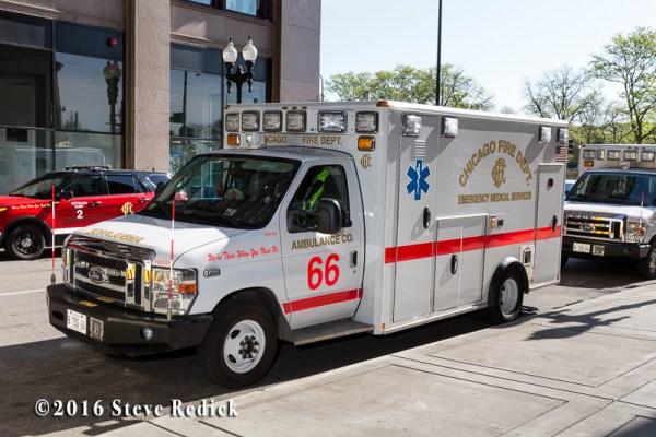 Chicago FD Ambulance 66