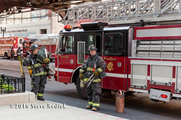 firefighters in Chicago