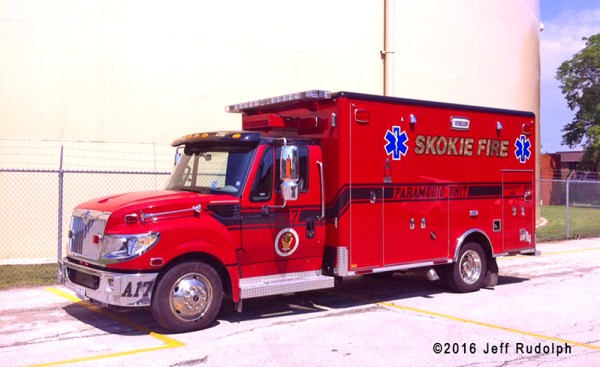 Skokie FD Ambulance 17