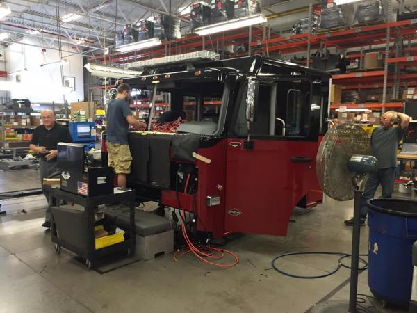 New fire engine being built for the Sauk Village Fire Department
