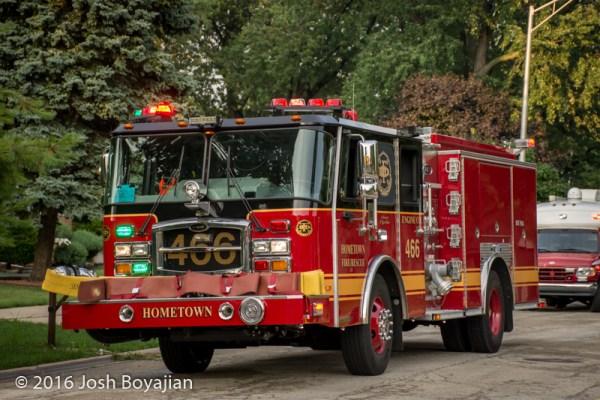 Hometown FD fire engine