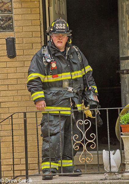 Stickney Firefighter Josh Boyajian