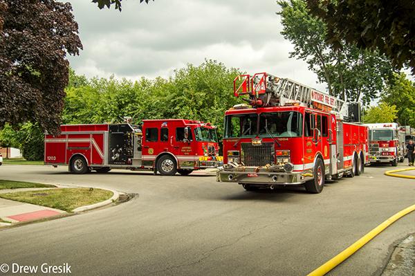 Sticky Fire Department fire trucks