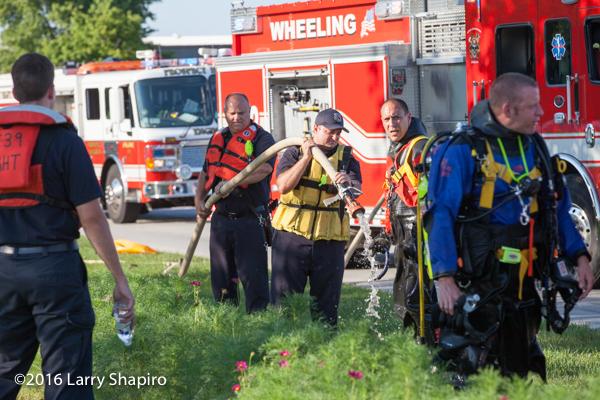 fire department divers decon