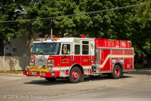 Berwyn Fire Department Engine 902