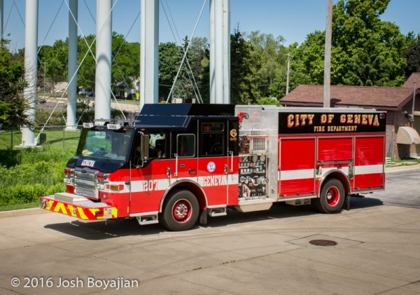 Geneva Fire Department Engine 207
