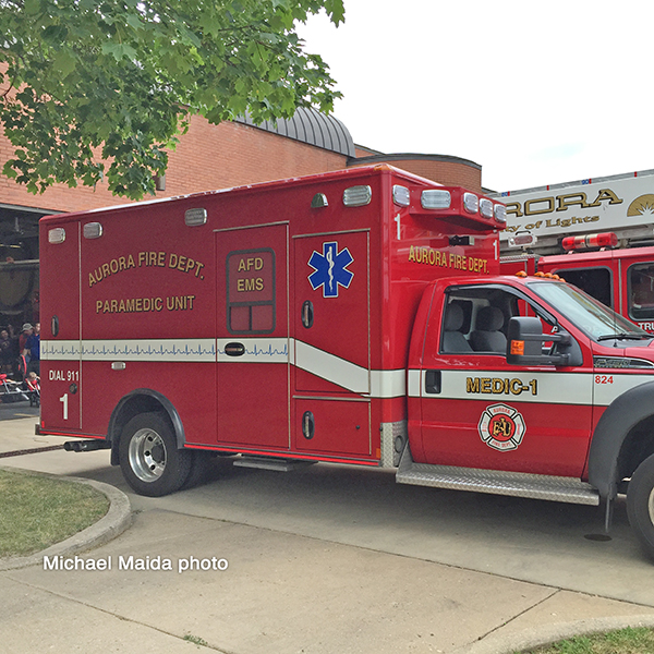 Aurora FD ambulance