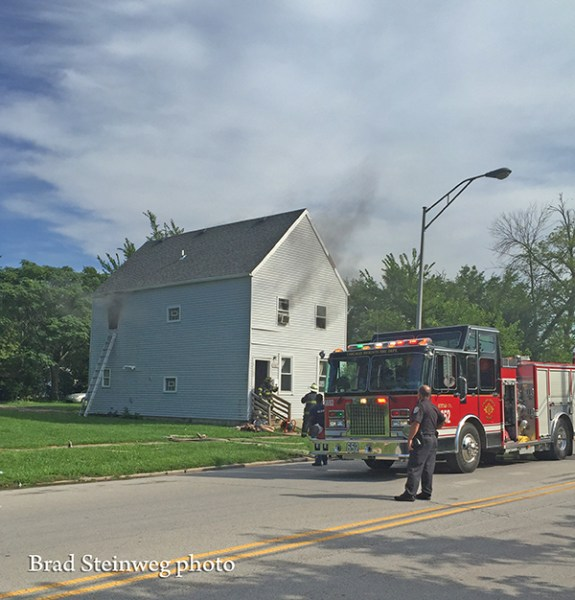 house fire in Chicago Heights