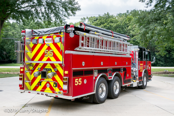 Long Grove Fire District Tanker 55