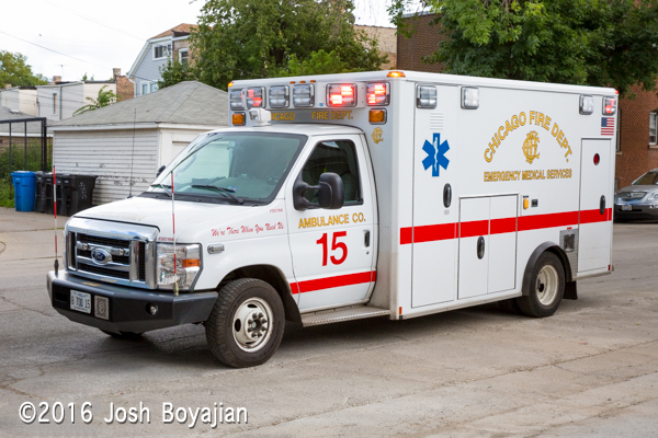 Chicago FD Ambulance 15