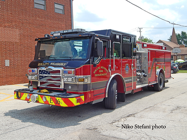 Rolling Meadows FD Engine 16