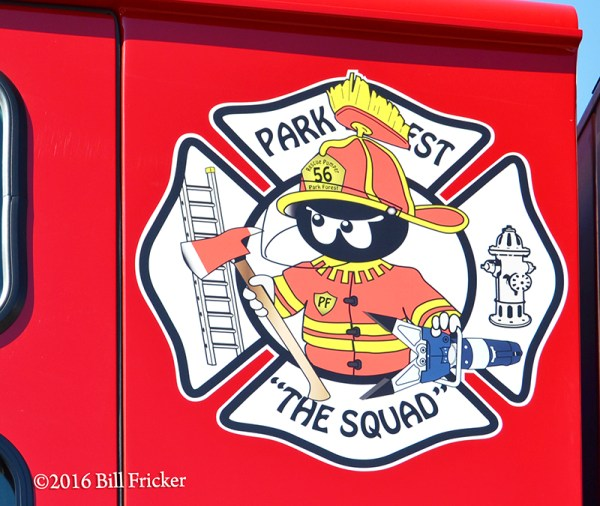 Park Forest FD decal