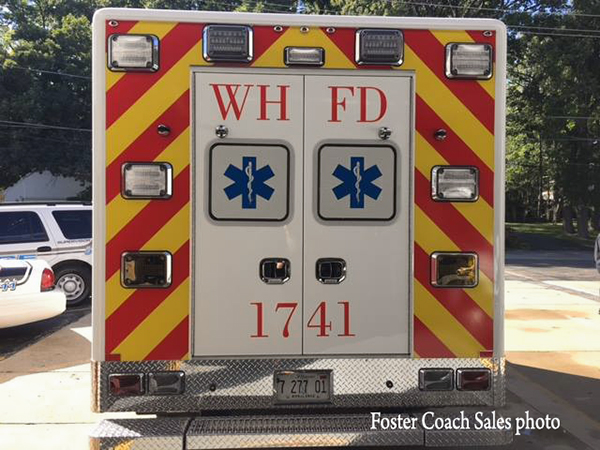 Winthrop Harbor FD Ambulance 1741
