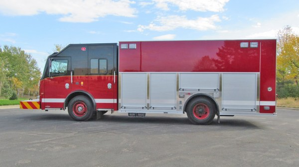 Chicago FD squad by Rosenbauer America
