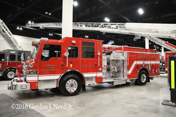 Pierce Impel fire engine for Lombard IL