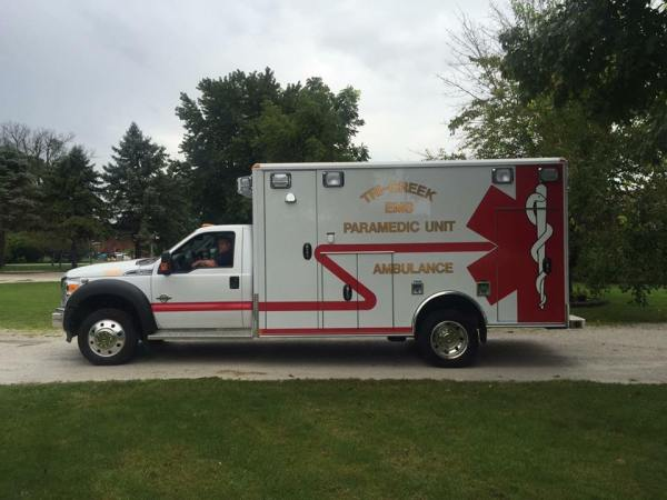 New ambulance for Tri-Creek EMS in Lowell, IN