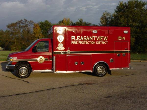 Pleasantview FPD ambulance