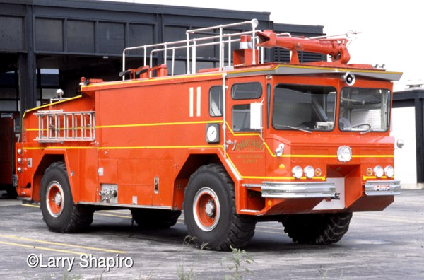 1970s vintage Walters ARFF from O'Hare Airport