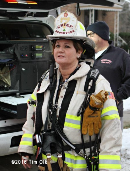 Broadview FD fire chief
