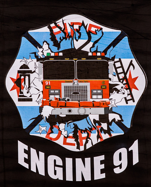 Chicago FD Engine 91 decal