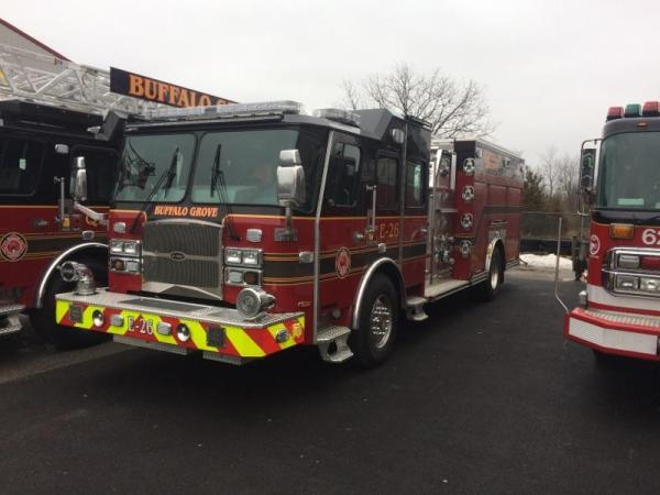 new fire engine for the Buffalo Grove FD